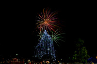 Christmas Tree Lighting Ceremony, Fountain Valley, CA 2011